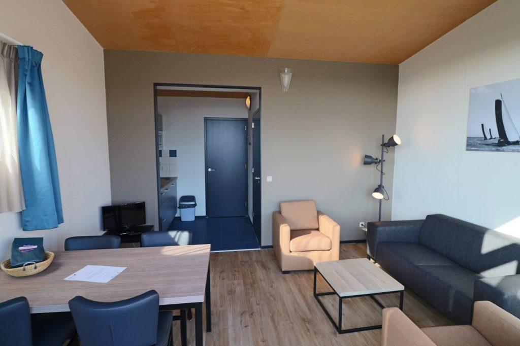Paviljoen Appartementen - Woonkamer